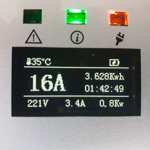 3-EV EVSE Type2 (max. 16A) Transportabel lader